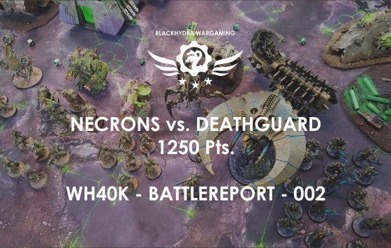 Battlereport -002 Necrons vs. Deathguard 1250 pts [DE/GER]
