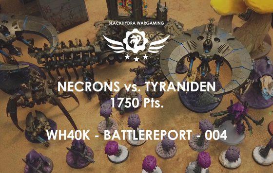 Battlereport -004 Necrons vs. Tyraniden 1750 pts [DE/GER]