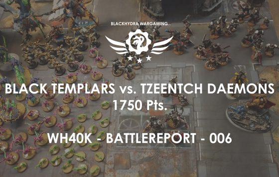 Battlereport -006 Black Templars vs. Tzeentch Daemons 1750 pts – Das Relikt [DE/GER]