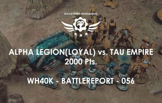 WH40K – Battlereport -056 Space Marines vs. Tau Empire [DE/GER]