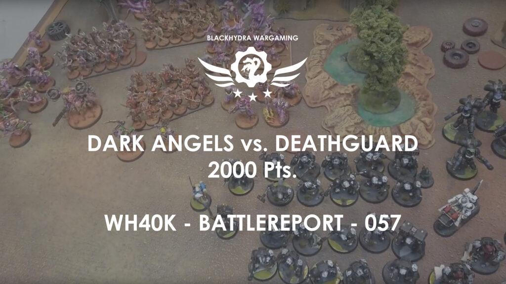 Lys (Dark Angels) vs Morley (Deathguard Terminus Est)